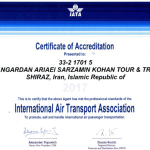 IATA Licenses